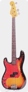 Fender Precision Bass '62 Reissue Lefty 1994 Sunburst