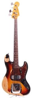 Fender Jazz Bass '62 Reissue Jb62 98 1989 Sunburst