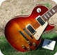 Gibson -  LES PAUL STANDARD 1989 SUNBURST FLAME TOP