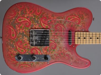 Fender Custom Shop 1968 Telecaster Paisley (dennis Galsuka) 2007 Paisley   Closet Classic