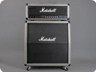 Marshall-JCM 25/50 Model 2555 100W / Silver Jubilee-1987-Silver Levant