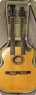 Washburn Ea220 Double Neck Acoustic 1997