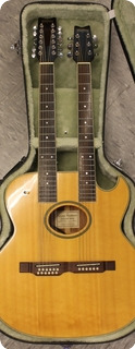 Washburn Ea220 Double Neck Acoustic 1997