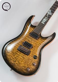 Valenti Guitars Nebula Carved #050 Private Collection 2020