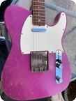 Fender-Telecaster-1966-Purple Sparkle