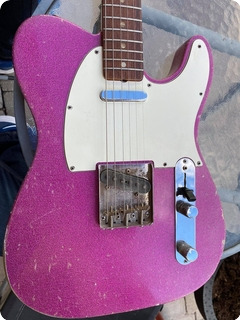 Fender Telecaster 1966 Purple Sparkle