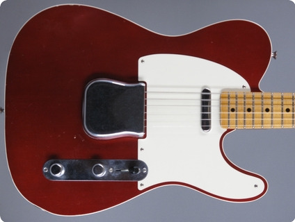 Fender Custom Shop ´50s Telecaster Custom 2011 Candy Apple Red