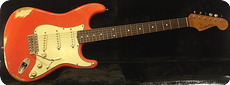 Real Guitars Standard Build S Roadwarrior 2020 Fiesta Red