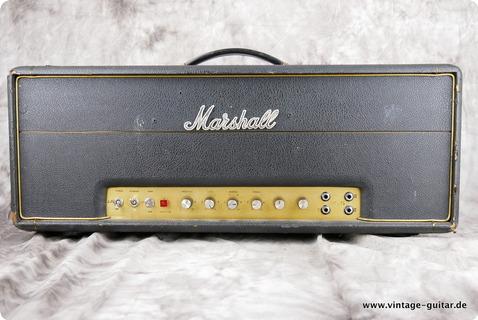 Marshall Super Lead / Bass 1972 Black