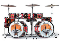 Premier Drums Keith Moon Spirit Of Lilly Drum Kit THE WHO Ltd Edition 2006