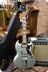 Gibson 1964 SG Standard Reissue Meastro Vibrola VOS 2020 Silver Mist Poly