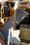 Fender American Vintage 65 Jazzmaster With Mastery Bridge And SD Antiquity 2014 FSR Firemist Silver