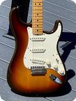Fender Stratocaster 1982 Sunburst Finish