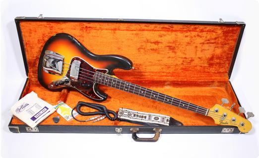 Fender Jazz Bass 1965 Sunburst