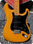 Fender Stratocaster 1976 Natural Ash Finish