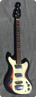 Meazzi Tiger Bass 1965 Sunburst