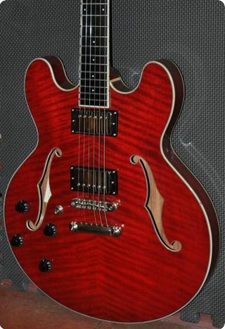 Eastman T186mx Lefthanded Red