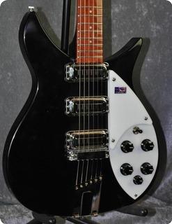 Rickenbacker 350v63 1998 Jetglo Black