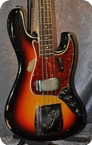Fender Jazz Bass.CITES Certificate Incl. 1964 Sunburst