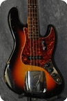 Fender Jazz Bass.CITES Certificate Incl. 1965 Sunburst