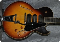 Gibson ES 225T Thinline 1958 Original Sunburst