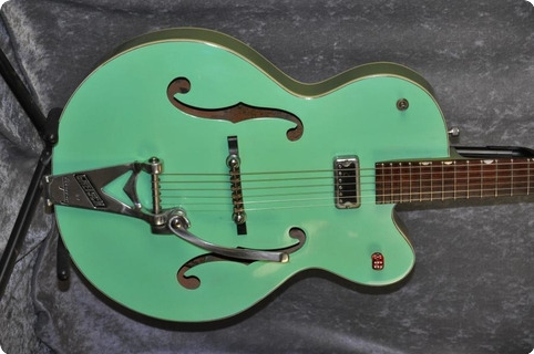 Gretsch Anniversary Model 6125 1961 2 Tone Smoke Green