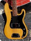 Fender Precision Bass 1977 Natural Ash Finish