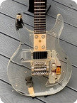 Dan Armstrong (ampeg) Guitars-Lucite Guitar -1970-Clear Lucite