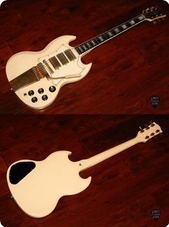 Gibson Sg Custom 1967 Polaris White