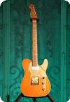 Paoletti Guitars Nancy 2019 Orange Leather