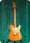 Paoletti Guitars Nancy 2019 Orange Leather