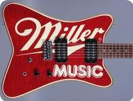 Hamer Miller Music 1986 Miller Music Graphic