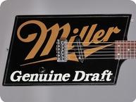 Hamer Miller Genuine Draft 1987 Black Graphic