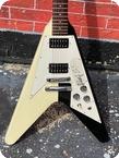 Gibson RUDOLF SCHENKER FLYING V Ltd. Run 1993 Black White Finish