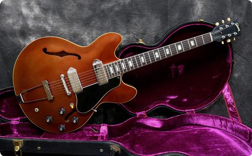 Gibson Es 330td 1967 Sparkling Burgundy Metallic