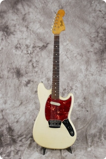Fender Musicmaster 1965 Olympic White
