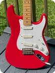 Fender-Stratocaster Eric Clapton Signature -1988-Torino Red Finish