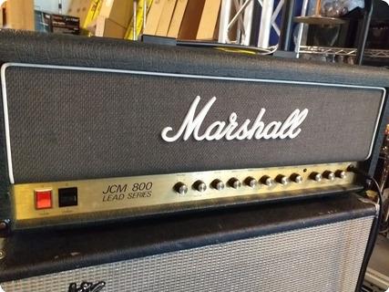 Marshall Jcm 800 Lead Series 1986 Black