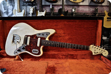 Fender Jaguar 1964 Olympic White Gold Hardware