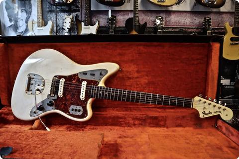 Fender Jaguar 1964 Olympic White / Gold Hardware