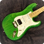 Green Green ST Special MN Signature Custom Shop 2019 Transparent Green