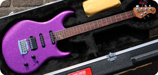 Ernie Ball Music Man Luke III HSS 2020 Fuchsia Sparkle