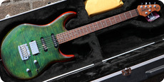 Ernie Ball Music Man Luke III Flamed Top 2020 Luscious Green