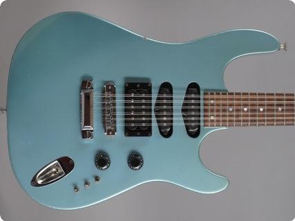 Hamer Chaparral Standard 12 String 1987 Ice Blue Metallic