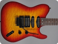 Hamer TLE 1986 Cherry Sunburst