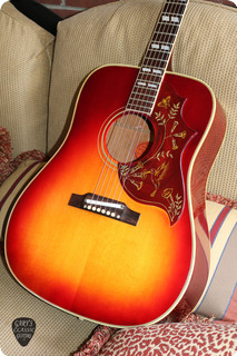 Gibson Hummingbird 1961 Cherry Sunburst