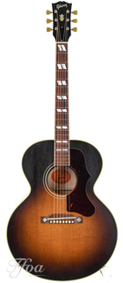 Gibson J185 Vintage Flame Maple Thermally Aged Adirondack Mint 2019