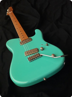 Tausch Guitars 665 Raw Seafoam Green