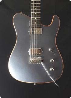 Tausch Guitars 665 Deluxe Galena Silver