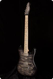 Tausch Guitars 665 Raw Deluxe Cobra Burst